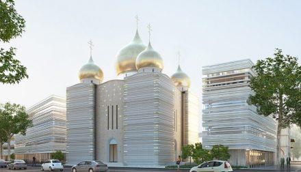 Wilmotte et Associés: Centre Spirituel et Culturel Orthodoxe Russe (CSCOR).