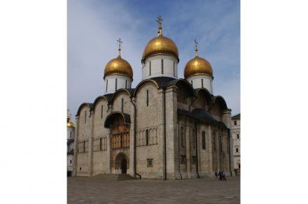 The Kremlin Cathedral of the Dormition. Photo: Daniel Kruczynski / Wikimedia Commons