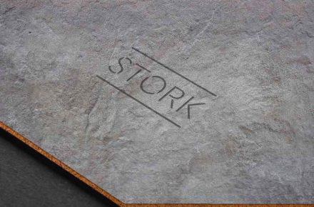 stork sandwich aus kork und naturstein f r fu b den und w nde stone. Black Bedroom Furniture Sets. Home Design Ideas