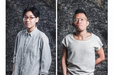Designer Chang Chia-Ling (left), designer Lien Chin-Ho.