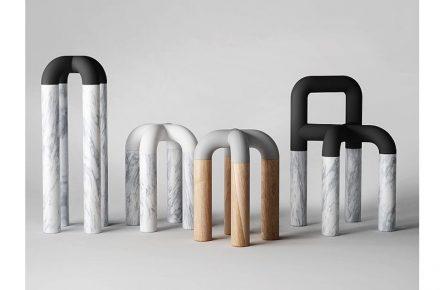 """Gewinner des Salone Satellite Awards war <a href=""""https://www.pistacchi-design.com/""""target=""""_blank"""">Pistacchi Design</a>, Taiwan: """"Comma hat die Form einer modernen Skulptur und zieht mit ihren unterschiedlichen Materialien die Aufmerksamkeit der Leute an; die Form selber lädt dazu ein, sich anzulehnen oder hinzusetzen und eine Pause zu machen."""""""