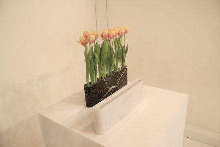 """Salone Satellite: Vase von Daisuke Kitagawa, <a href=""""http://www.designforindustry.jp/""""target=""""_blank"""">Design for Industry</a>."""