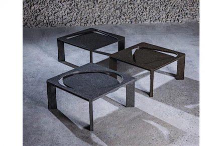 "<a href=""https://www.stoneitaliana.com/""target=""_blank"">Stone Italiana</a>: ""Prospettiva Stone"", aus Quarz Kompositmaterial. Design Paolo Ulian."