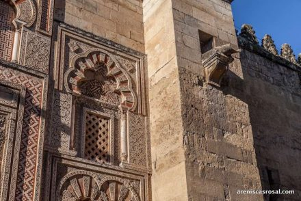 The Mosque of Cordoba.