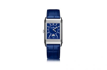 Jaeger-LeCoultre: Atelier Reverso_Electric Blue dial.