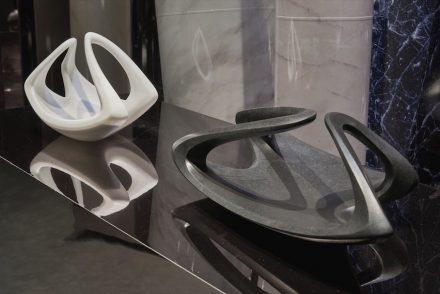 "Citco 2107: Zaha Hadid Design, centrepiece ""Orbi""."