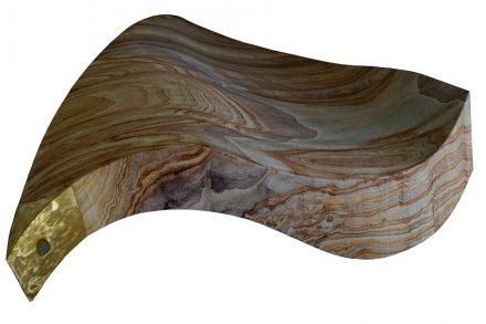 Benz, Valerie: Skulptur für ein Foyer, Rainbow, L x B x H in cm: 100 x 102 x 40.