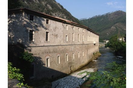 The historical marble factory in Seravezza, site of Arkad Foundation.