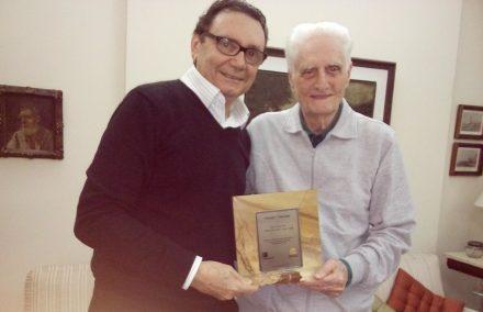 Carlos Rubens Alencar, president of Simagran-CE, e Giorgio Veneziani. Photo: private