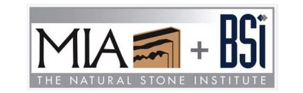 The logo of MIA+BSI: the Natural Stone Institute