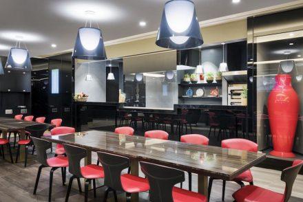 """Marco Piva: VIP Lounge """"Casa Alitalia"""", Rom Fiumicino."""