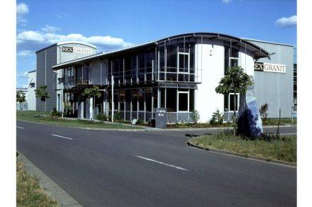 Rexgranit in Brück bei Potsdam.