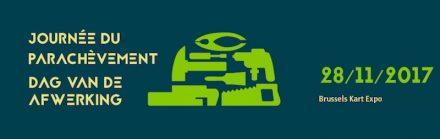 Logo der Baumesse Journée du Parachèvement, in deren Rahmen der Natursteintag stattfindet.