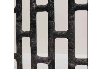 """""""Fence""""; Design: Ludovica + Roberto Palomba; Company: Margraf; Material: Fior di Pesco Carnico®."""