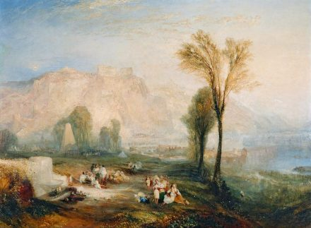"William Turner: ""Ehrenbreitstein"" (1835). Foto: Wikimedia Commons."
