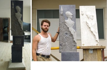 """Die Gute Form"": Tassilo I. Pöllath, 2. prize (stonemasonry with focus on stonesculpting)."