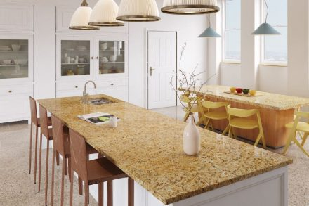 Guidoni: Gold granite.