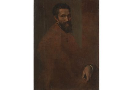 """Michelangelo Buonarroti"" by Daniele da Volterra, probably ca. 1544. Oil on wood. The Metropolitan Museum of Art."