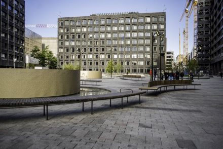 Brunkebergstorg Square in Stockholm.