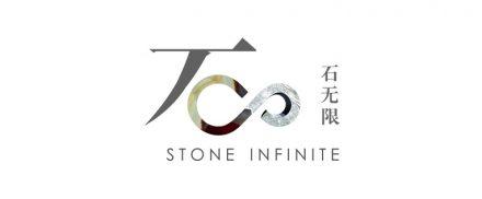 """Logo der Ausstellung """"Stone Infinite""""."""