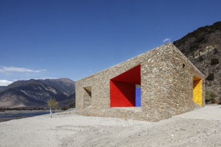 Tibet Niyang River Visitor Centre. Foto: standardarchitecture