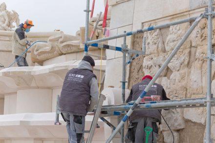 Wolfgang Ecker GmbH aus Traiskirchen: Rekonstruktion der so genannten Großen Kaskade im Schloss Hof in Niederösterreich.