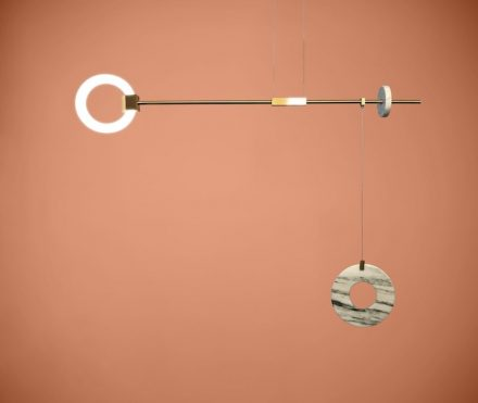 "Lamp ""Libra"" by Chris Basias, <a href=""http://www.ctlights.gr/""target=""_blank"">CT Lights</a>, Athens. Photo: CT Lights"