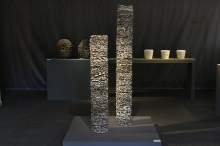 One of the works of ceramic artist Serge dos Santos. Photo: Serge dos Santos