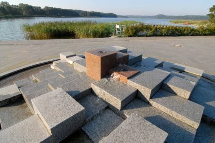 Besco, water projects: Binz, lakefront.