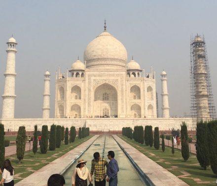 The Taj Mahal in 2017. Photo: Toni Hütz