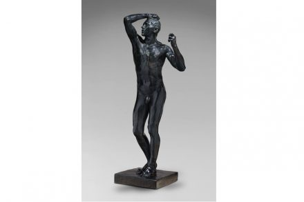 Auguste Rodin, The Age of Bronze, 1877. Bronze. Sandcast before 1916 © Musée Rodin