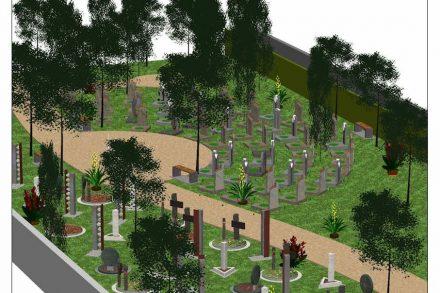 Eine weitere Anerkennung ging an Bernhard Baumgartner für sein Konzept und die Umsetzung auf dem Urnenfriedhof Attnang.