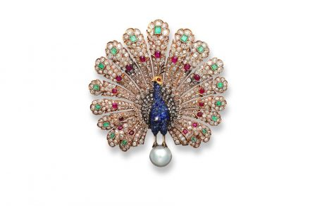 Peacock Brooch. Photo: WhiteLight