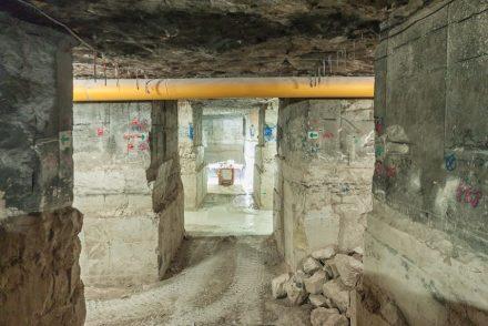 Underground quarry, Albion Stone. Photo: Albion Stone