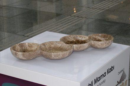 """""""Babli Mama Kabı"""". Company: Natur Stone. Design: Başak Yunatçı (İzmir Ekonomi Üniversitesi)."""