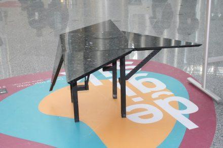 """""""Doğaltaşın yıldızı"""". Company: Granitaş. Design: Merve Varolcan (Mimar Sinan Üniversitesi)."""