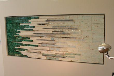 "Lambrate Design District: ""Precious Walls"" by <a href=""http://www.preciouswalls.it/""target=""_blank"">Carla Daturi</a>."