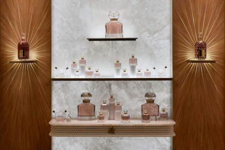 Guerlain: Boutique Vendôme. Foto: Atelier Allain Ellouz