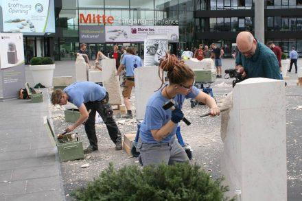 Europäischer Wettbewerb der jungen Steinmetze.