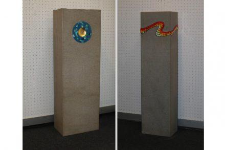 """Gravestones, <a href=""""http://www.grandi-steinbruchbetriebe.de/""""target=""""_blank"""">Steinbruchbetriebe Grandi</a>."""