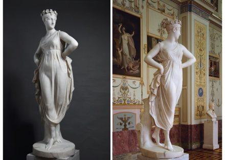 "Antonio Canova, ""Dancer"", 1800-1805. Source: State Hermitage Museum, St Petersburg"