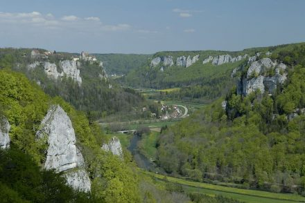 Das obere Donautal. Foto: Reiner Enkelmann