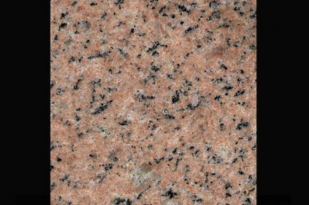 """Granite Golovyrensky, a granite with fine-grained rose color with dark impregnations, quarried by <a href=""""http://www.stonex.ru/""""target=""""_blank"""">Stonex Group</a> (<a href=""""mailto:sataev@stonex.ru""""target=""""_blank"""">Mail</a>) close to Golovyrenskoye in Russia"""