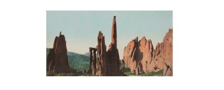 William Henry Jackson: Cathedral Spires, Garden of the Gods, Colorado, 1901.