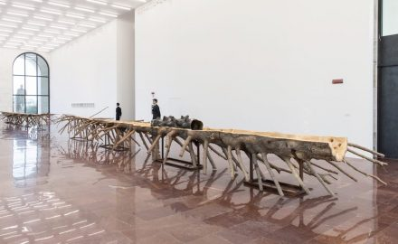 "Giuseppe Penone: ""Matrice"", 2015."