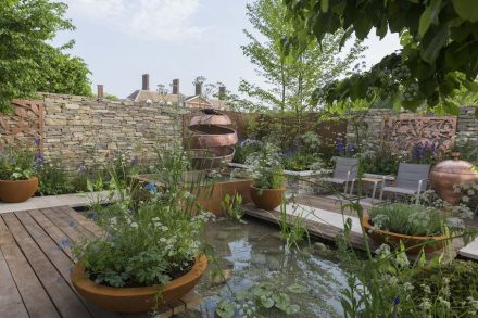 """The Silent Pool Gin Garden"". Fotos: RHS/Sarah Cuttle"