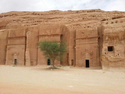 Mada'in Salih, Saudiarabien. Foto: Franksuresh / Wikimedia Commons