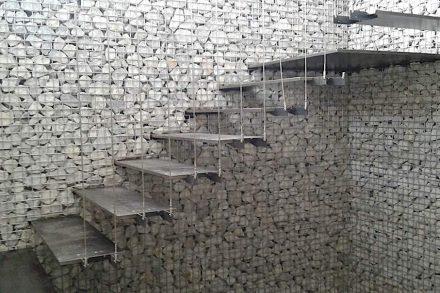 Zanettin: steel and stone.