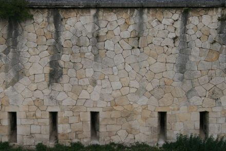 Stadtmauer von Verona.
