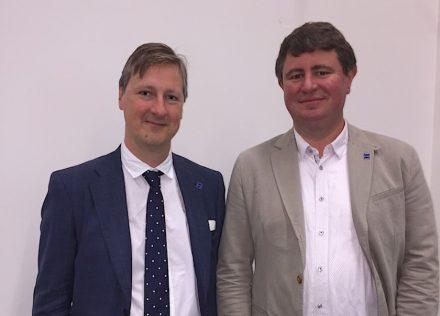 Die Euroroc Ko-Präsidenten für den Zeitraum 2018-2020: Kristof Callebaut (links) und Stijn Renier.